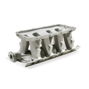Holley Intake Manifold 300 275 Hi ram Satin Cast Aluminum For Ford 289 302 Sbf