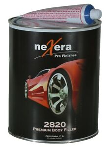 Nexera 2820 Premium Body Filler 1 Gallon Hardener