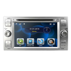 For Ford Focus Transit 2005 2007 Car Stereo Radio Gps Navigation Dvd Player s