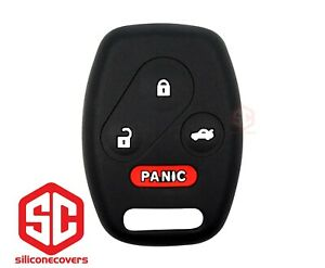 1x New Keyfob Remote Fobik Silicone Cover Fit For Select Honda Vehicles