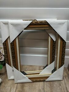 2 New Vintage Ornate Wood Picture Frames Decorative Romantic Victorian