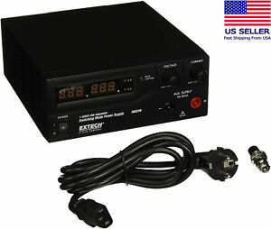 new Genuine Extech 382276 Switching Mode 600w 230v Dc Power Supply