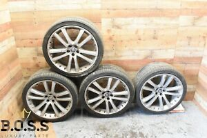 07 09 Jaguar Xk Xkr Wheels Rims Factory 20 X 8 5 9 5 Set W Tires 6w83 1007 Fc