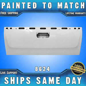 New Painted 8624 Olympic White Tailgate For 2007 2013 Chevy Silverado Gmc Sierra