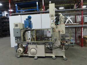 Trueblood Tb75a 5 75t X 5 7oz Vertical Plastic Injection Molding Machine