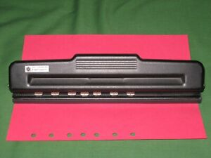 Adjustable 7 Hole Punch Day Timer Planner Desk Franklin Covey Classic