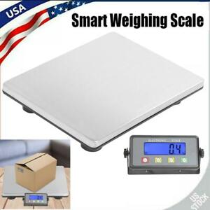 Heavy Duty Smart Shipping Postal Parcel Scale 440lbs Capacity Stainless Steel Us