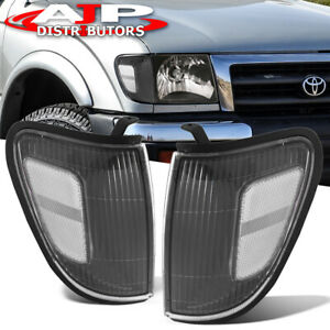 Black Clear Head Lights Corner Turn Signal Lamps For 1998 2000 Toyota Tacoma 4wd