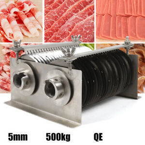 Commercial 5mm Blade Meat Food Slicer For Qe500 Cutting Machines Stainless Steel