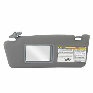 Driver Side Gray Sun Visor For 05 14 Toyota Tacoma Without Light 74320 04181 B1