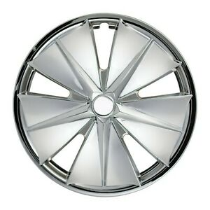 15in 4pc Set Abs Viking Chrome Wheel Covers