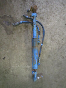 Ford New Holland 4630 Tractor Steering Cylinder And Lines E7nn3a739aa 83981560