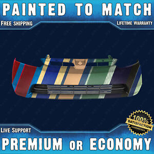New Painted To Match Front Bumper For 2006 2007 2008 Honda Civic 1 8l Sedan