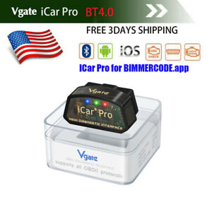 Us Vgate Icar Pro Bluetooth 4 0 Elm327 Auto Obd2 Code Reader Scanner Diagnostic