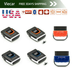 Us Viecar Elm 327 V2 2 Bluetooth 5 0 4 0 Wifi Obd2 Car Coding For Andriod Ios