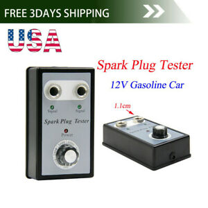 Us Dual Hole Car Spark Plug Analyze Tester Two Channel Ignition Coil Diagnostic