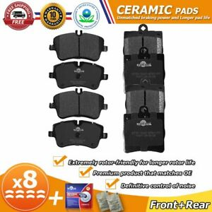 Front Rear Ceramic Brake Pads For Mercedes benz C230 C240 2001 2005