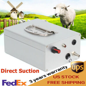 Pulsation Electric Milking Machine Vacuum Pump Accessory For Farm Cow Sheep Goat