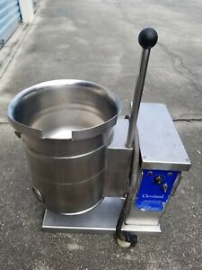 Cleveland Ket 3 t Countertop Jacketed Steam Kettle 220v Single Phase