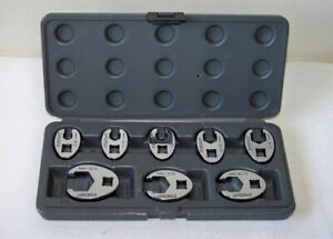 Napa Evercraft 8 Piece Sae 3 8 Drive Flare Nut Crowfoot Socket Wrench Set