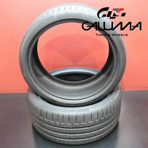 2 Tires Continental Sportcontact6 Summer 245 35r19 245 35 19 2453519 93y 54736