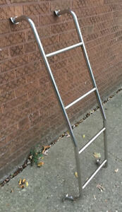 1971 20 Universal Chevy Dodge Ford Van Custom Rear Door Steel Metal Step Ladder