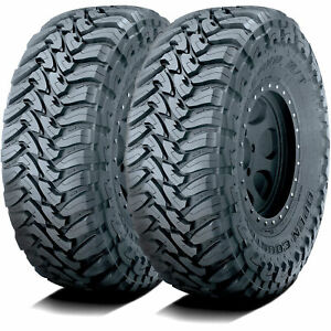 2 New Toyo Open Country M T Lt 33x12 50r20 114q E 10 Ply Mt Mud Tires