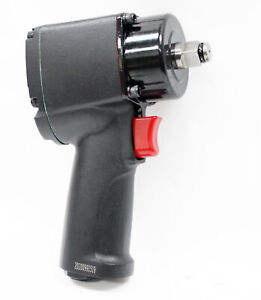 Stubby 1 2 Dr Air Impact Wrench 400 Ft Lbs Pneumatic Ultra Impact Wrench