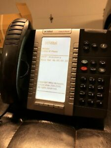 Mitel 5340e Ip Voip Phone With Stand And Handset