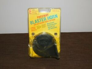 Vintage Fiamm Freeway Blaster Horn Big Rig Sound For All Cars New In Package