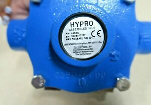 Hypro 6500c 6 roller Pump Reverse Rotation Cast Iron 3 4 Fnpt Max Psi 300 New