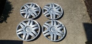 4 Used 2000 2001 Toyota Camry 15 Silver Hubcap Wheelcover Factory Original