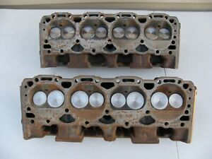 1987 95 Chevy 305 350 Car Truck Hd Cylinder Heads 14102191 Swirl Polished Valve