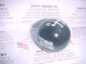 1994 2004 Ford Mustang Boss 302 Ford Licenced 6 Speed Shift Knob Black