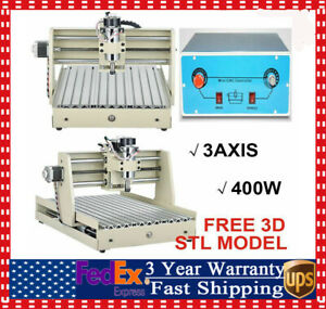 Parallel Port 400w 3 Axis 3040 Cnc Router Engraver Mill Drill Engraving Machine