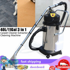 110v 40l Household Cleaning Machine Cleaner Extractor For Carpets Sofas Curtains