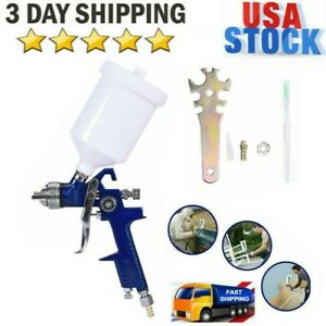 Mini Air Spray Gun Hvlp 1 4mm Auto Car Detail Touch Up Paint Sprayer Spot Repair