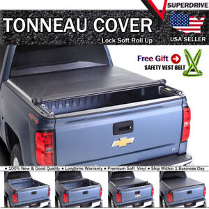 Fits 1999 2006 Chevy Silverado 1500 2500 3500 6 5ft Bed Roll Up Tonneau Cover