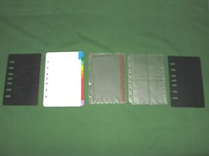 Classic Sheet Saver Tab Lot Refill Franklin Covey Planner Fill Page Protector