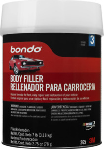 Bondo Body Filler Suitable For Wood Steel Aluminum Fiberglass 1 Gallon