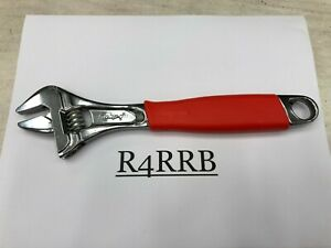 Snap On Tools Spain 10 Red Handle Flank Drive Plus Adjustable Wrench Fadh10b