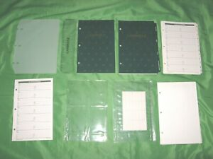 Classic 1 Year Undated Refill Lot Day Runner 3 Ring Planner Franklin Covey