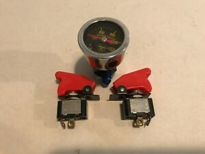Nitrous Arm Switches And A 4an Adaptor With Pressure Gauge