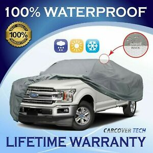 100 Waterproof Full Pickup Truck Cover For Ford F150 2000 2020