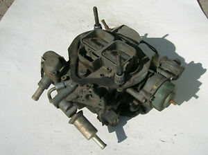 1980 Ford Mustang Holley 9181 Model 5200c Two Barrel Carb 2 3 Liter Turbo