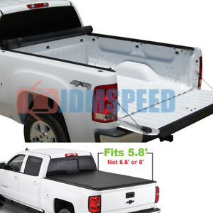 Roll Up Tonneau Cover For 2007 2013 Chevy Silverado Gmc Sierra 5 8 Bed