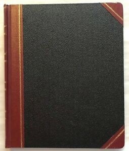 Boorum Pease 1602 1 2 Series Bound Columnar Book 10 25 X 12 5