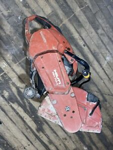 Hilti Dsh 700 x 14 In Hand Held Gas Concrete saw no Blade