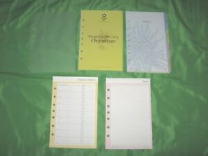 Classic Floral Tab Page Accessory Lot Franklin Covey 365 Planner Refill Fill