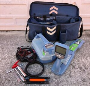 Spx Radiodetection Rd8100 Pdl Tx 10 Pipe Cable Locator W Bag great Shape